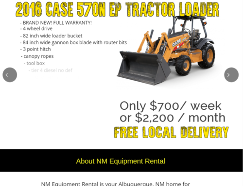 NM Equipment Rentals