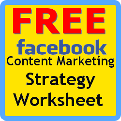 FREE Facebook Content Strategy Worksheet